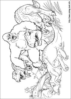 King Kong coloring picture