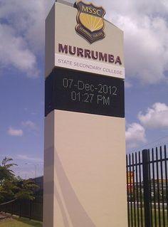 Murrumba State Secondary College LED monument | Danthonia Designs