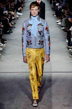 Gucci Spring 2016 Menswear Fashion Show: Complete Collection - Style.com