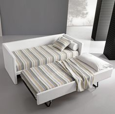bed sofa by giessegi trundle couch