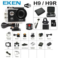 Sports Action Camera A9/H9R