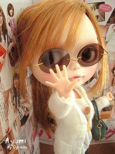 No photo please! by Cyrielle 1, via Flickr (Doll, Blythe)