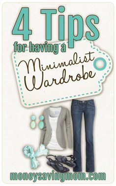 4 Tips For Having a Minimalist Wardrobe. If you have ever wanted to pare down your wardrobe this is an EXCELLENT post on how to do it. How To Have Style, Style Me, Simple Style, Look Fashion, Womens Fashion, Fashion Tips, Ladies Fashion, Mommy Fashion, Sporty Fashion
