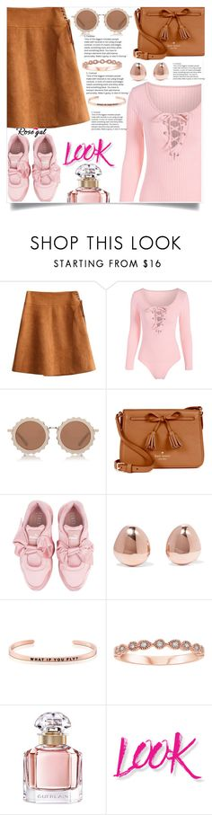 """""""Rosegal  13"""" by nejra-l ❤ liked on Polyvore featuring House of Holland, Kate Spade, Puma, Monica Vinader, MantraBand, Guerlain, NYX, Summer, dress and promotion"""
