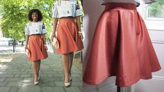 HOW TO MAKE A CIRCLE SKIRT | THE SUMMER CO-RD SET PT 2