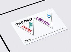 The Whitney unveils its new, elastic logo via @FastCoDesign #Design @whitneymuseum