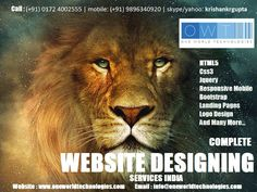 Complete Website Designing and Graphics Design Agency in India  You are thinking about your new website designing and development? I think you are looking in website designing:-   Landing Pages , Html5, Css3, responsive and many more... https://phpandallframeworksexpertteamindia.wordpress.com/2016/08/11/complete-website-designing-and-graphics-design-agency-in-india/