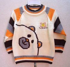 21 Trendy Sewing Patterns For Kids Boys Vest Baby Knitting Patterns, Sewing Patterns For Kids, Sewing Projects For Kids, Knitting For Kids, Crochet Projects, Knit Baby Sweaters, Boys Sweaters, Pull Bebe, Kids Boys