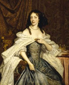 Lady Elizabeth Somerset, Marchioness of Powis and viscountess Montgomery by John Michael Wright, c. 167