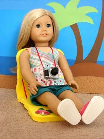American Girl Doll Play: Doll Craft - Make Your Dolls a Lounge Chair