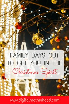 Family Days Out To Get You In The Christmas Spirit   Digital Motherhood