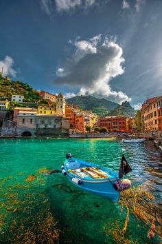 Beautiful Views of Vernazza, Cinque Terre Italy
