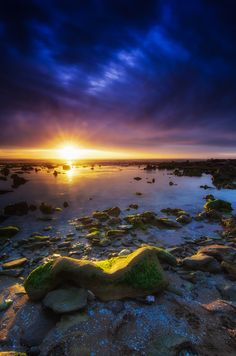 Shelly Beach Sunset ~ Australia by  Aaron Toulmin on 500px