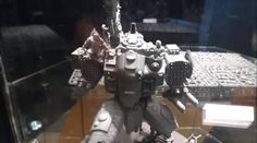 Relaxing Stormsurge Crew conversion at Warhammer 40k Open Day 2015