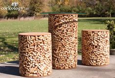 Recycled_wine_cork_stopper_stool_set_01