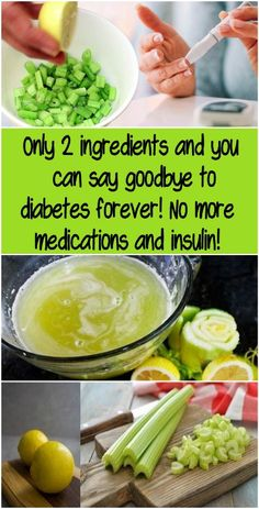 Only 2 ingredients and you can say goodbye to diabetes forever! No more medications and insulin! Diabetes is a chronic condition which happens when the body loses its ability to produce enough insulin or to use it effectively. Insulin is a hormone tha Natural Remedies For Allergies, Natural Headache Remedies, Natural Remedies For Anxiety, Healthy Drinks, Healthy Tips, Healthy Eating, Healthy Recipes, Diabetic Recipes, Diabetic Drinks