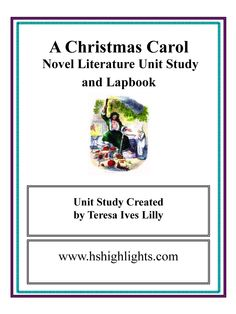 Charles Dickens A Christmas Carol ~ Lesson Ideas - Teach Beside Me