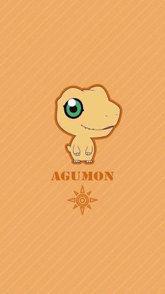 Agumon chibi. Coragem. Digimon Adventure Tri.