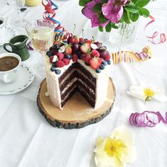 This cake though  I need to make it again and share the recipe on my blog. So good!
