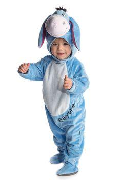 Déguisement bébé grenouillère avec tête 3D Bourriquet ™ : Ce déguisement de Bourriquet™ pour bébé est sous licence officielle Disney™. Il se compose d'une combinaison et d'une cagoule.La grenouillère bleue et...
