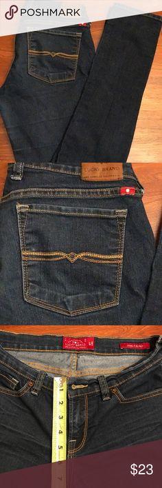Lucky Brand skinny jeans Lucky Brands Charlie Skinny jeans. EUC!  Smoke free home! Lucky Brand Jeans Skinny