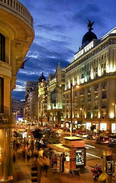 Gran Via Madrid Spai