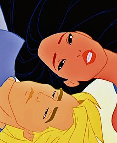 *POCAHONTAS & CAPTAIN JOHN SMITH ~ Pocahontas, 1995