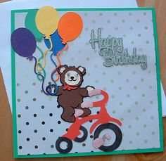 Tricycle birthday