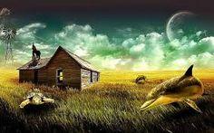 Image result for surrealist landscape paintings