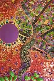 Mosaic art great color combination