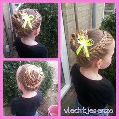 5 strand braid #braidsforgirls #braids #hairstylesforgirls #haircreations