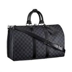 Men Louis Vuitton Luggage Keepall With Strap Men N41418