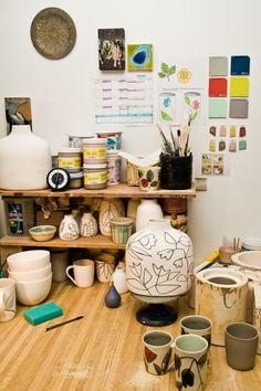 Krystal Speck's studio