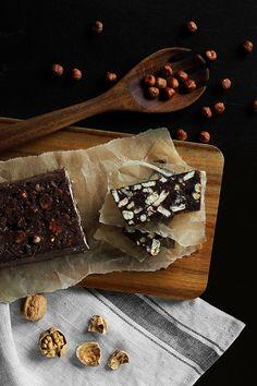 Blok czekoladowy FIT Sweet Bar, Good Food, Dessert Recipes, Veggies, Cheese, Chocolate, Meat, Vegetable Recipes, Chocolates