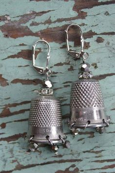 thimble earrings!