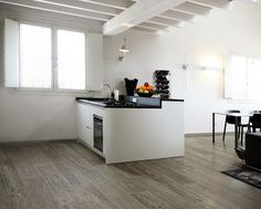 Timber Wood Look Tile in Anthracite
