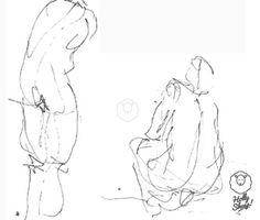 Sketches - left hand