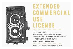 Extended Commercial Use License by Alicia Youngken on Creative Market
