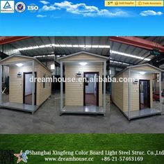 Cheap prefab houses with galvanized steel base/prefab homes granny flat/prefabricated portable yard cabin, View cheap prefab house, prefabricated portable yard cabin Product Details from Shanghai Xingfeng Color Board Light Steel Structure Co., Ltd. on Alibaba.com #homeimprovementltd