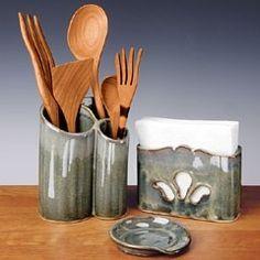 Ceramic Utensil Holders - Foter