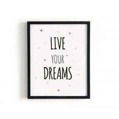 Dreams lamina blanco