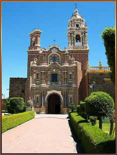 Templo San Francisco Acatepec,San Andrés Cholula,Puebla,México