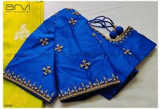 Kids Blouse Designs, Hand Work Blouse Design, Simple Blouse Designs, Stylish Blouse Design, Fancy Blouse Designs, Bridal Blouse Designs, Blouse Simple, Traditional Blouse Designs, Embroidery Designs