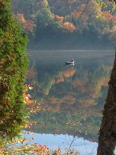 Spectacular Fall Foliage  ~~  Mount Tremblant. Quebec, Canada