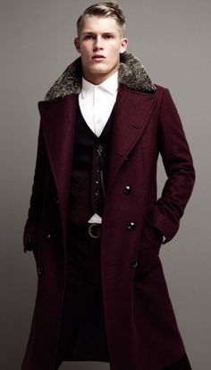 This ensemble of #garments is awesome. — Bergdorf Goodman Magazine: Men's Fall Collections 2012. #fashion #menswear