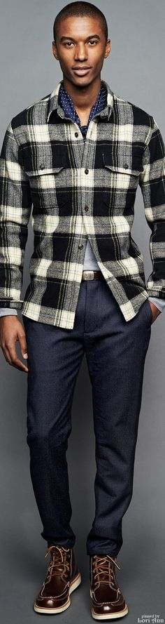 J.Crew Fall 2015 RTW Menswear | Men's Fashion | Men's Casual Outfit | Moda Masculina | Shop at designerclothingfans.com