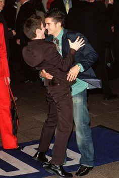 Elijah Wood and Orlando Bloom