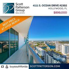 Credit to @buysouthflorida    Oceanfront Living at Hyde Beach Resort ! . . .  Hyde Beach Resort  Direct Oceanfront  Corner Unit 2BR/2BA  $899k . . #hydebeach #hydebeachhollywood #southflorida #southfloridarealestate  #realtorlife     #HollywoodTapFL #HollywoodFL #HollywoodBeach #DowntownHollywood #HardRockHolly #Miami #FortLauderdale #FtLauderdale #Dania #Davie #DaniaBeach #Aventura #Hallandale #HallandaleBeach #PembrokePines  #Miramar #CooperCity #Plantation #SunnyIsles #MiamiGardens…