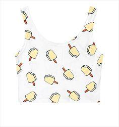 (シーファニー)Cfanny レディース 可愛い 原宿風 フィット ストレッチ 果物 アイスクリーム プリント へ…