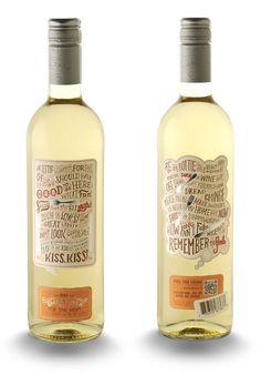 33 diseños impresionantes de botellas de vino 11